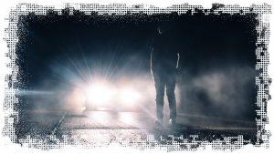 автомобиль фонарик ночь