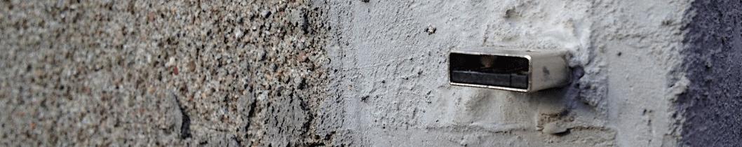 Dead Drops флешки в стенах