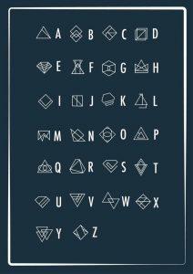 геометрический алфавит